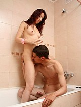 Teen Couple Having Sex In The Bathroom - Picture 6