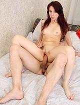 Sassy Teen Slut Sucks Cock And Rides Her Boyfriend - Picture 12