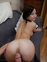 Teen Brunette Cutie With Pigtails Impaled On Huge Dick - Picture 14